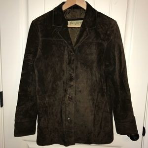 Urban Outfitters Brown Suede Jacket